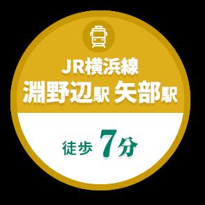 JR横浜線 淵野辺駅 矢部駅 徒歩7分